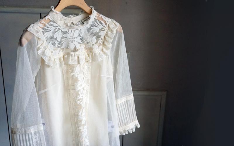 leur lgoette tullelace blouse