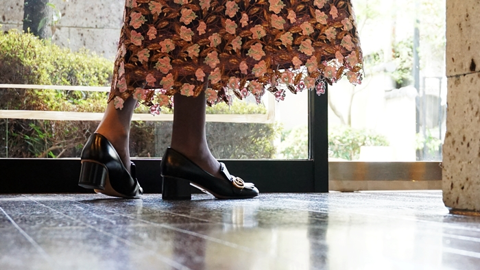 ルールロジェット,刺繍スカート