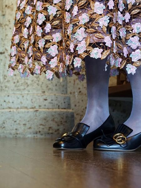 ルールロジェット,刺繍レーススカート