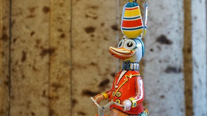 Wilesco duck