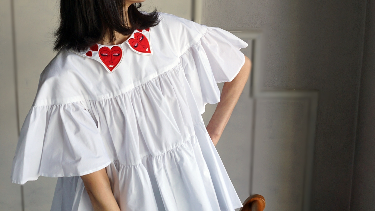 VIVETTA HAPPY HEART BLOUSE