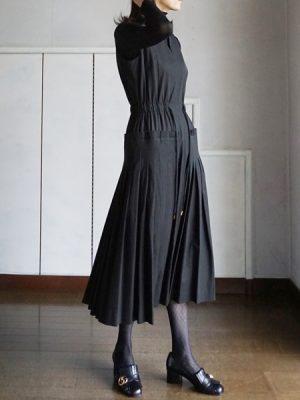akikoa aoki pleated dress