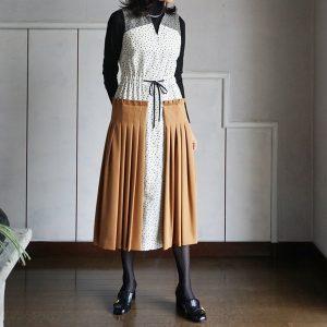 AKIKO AOKI Pleated dress