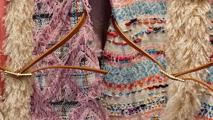 leur logette tweed vest