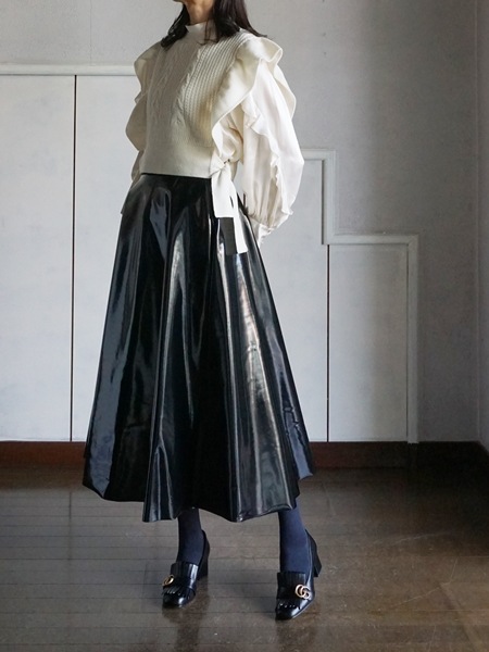 leur logette  top & akiranaka skirt