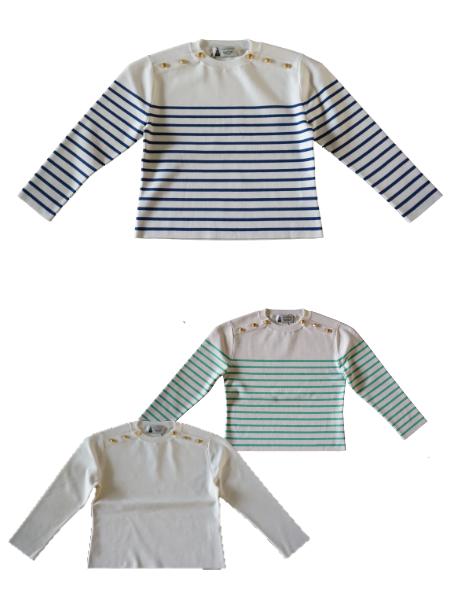 leur logette pima cotton knit top
