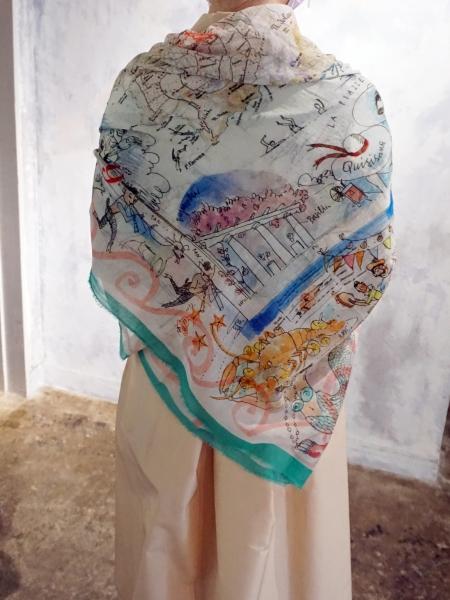 leu logette ×faliero sarti scarf