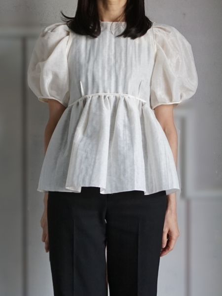 leur logette ルールロジェットpearl cloth top