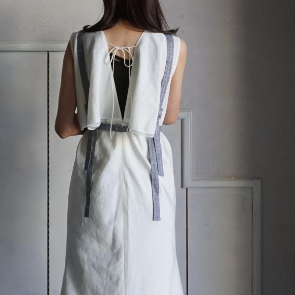 akikoaoki apron top back style
