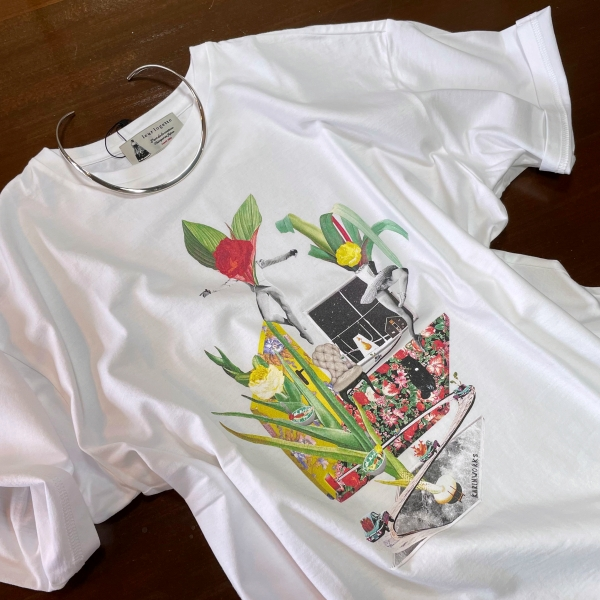 lleur logette-ルールロジェット オーガニックコットンTシャツ