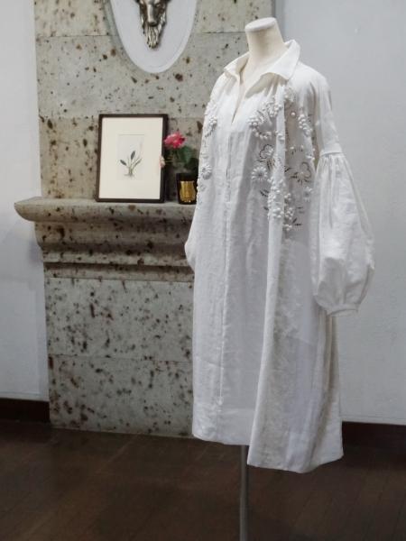 towavase- linen dress