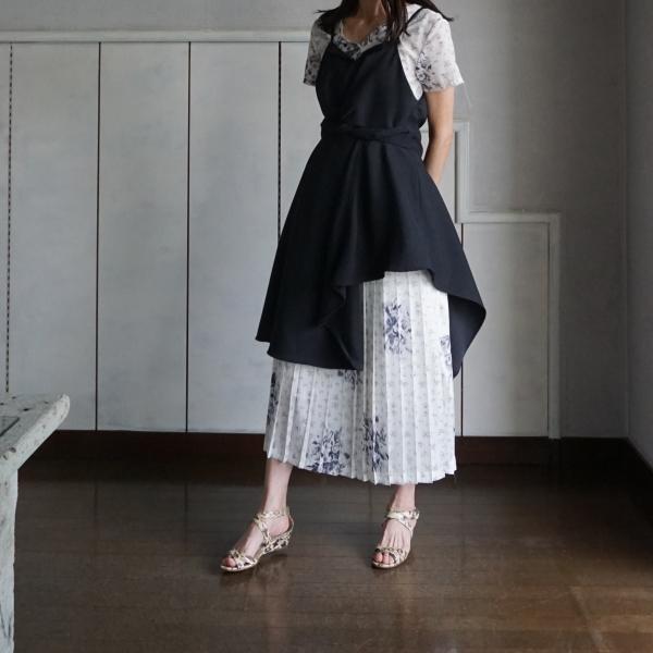 akikoaoki レイヤードドレス