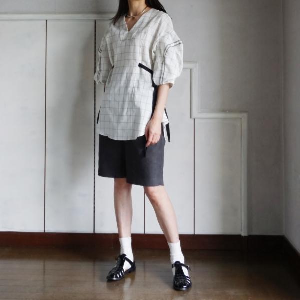 akikoaoki linen blouse