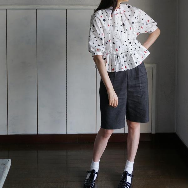 vivetta hand collar blouse