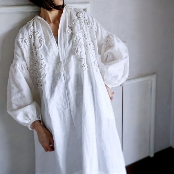 towavaes linen dress