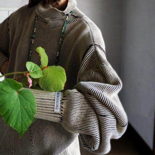 akiko aoki dual face knit