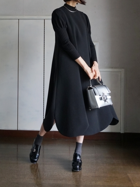 leur logette black dress